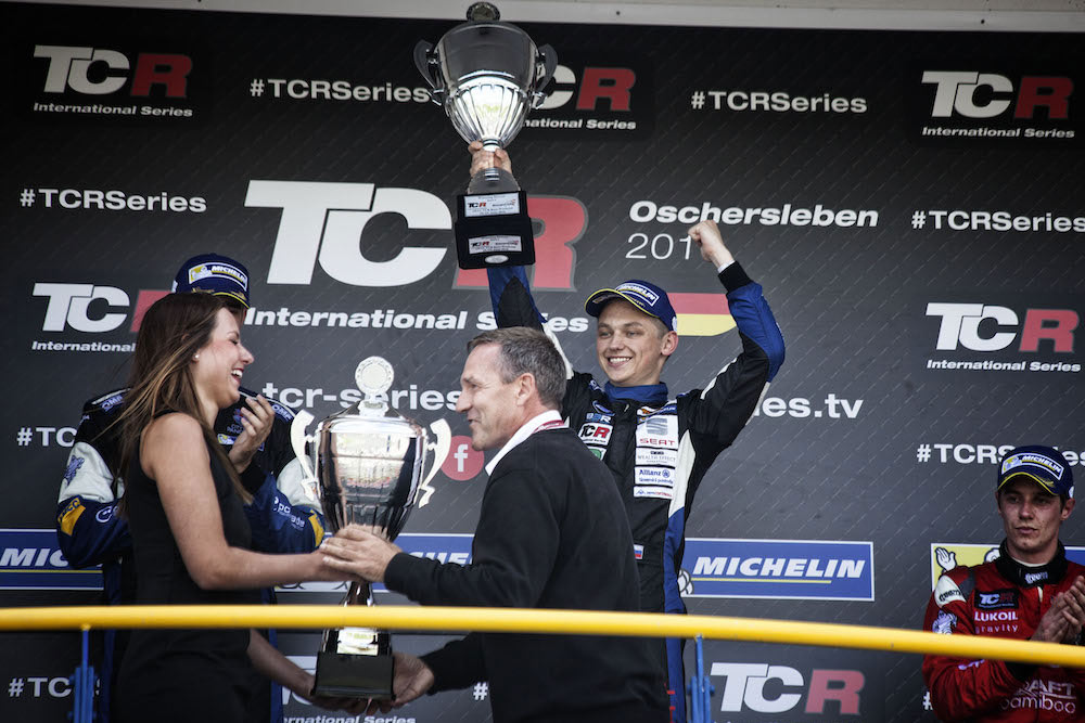 Mato Homola clinched his first victory in TCR Internationa Series!