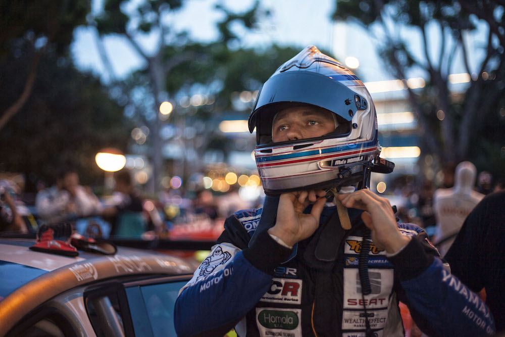TCR Singapore 2016 – Fourth place for Mato Homola in the Race 1