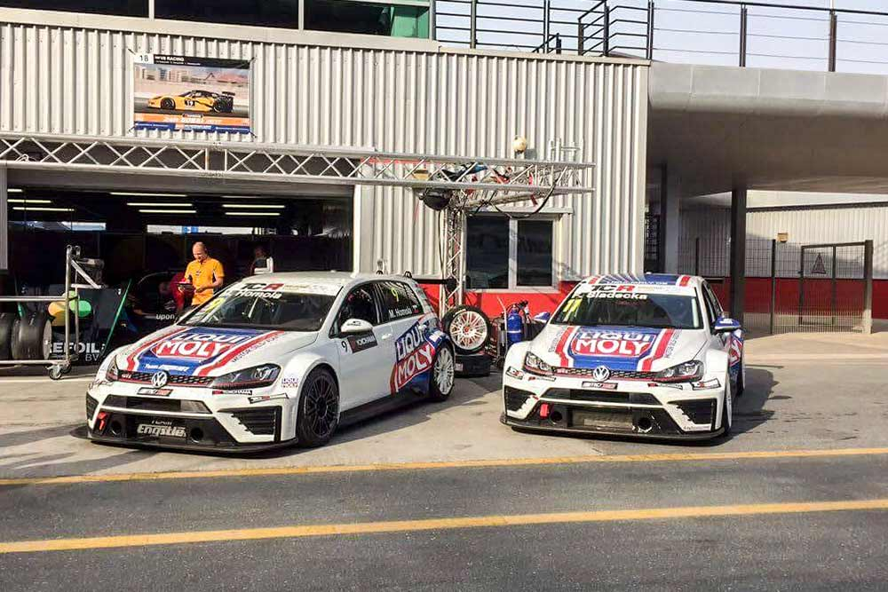 Fantastic second place for Mato Homola in Dubai at TCR Middle East