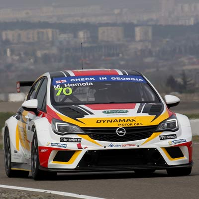 2017 New challenge in TCR with Opel Astra OPC TCR