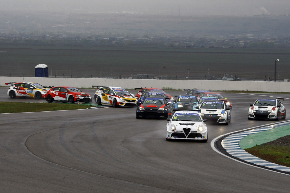 TCR International Series Georgia, Rustavi 30 March - 2 April 201