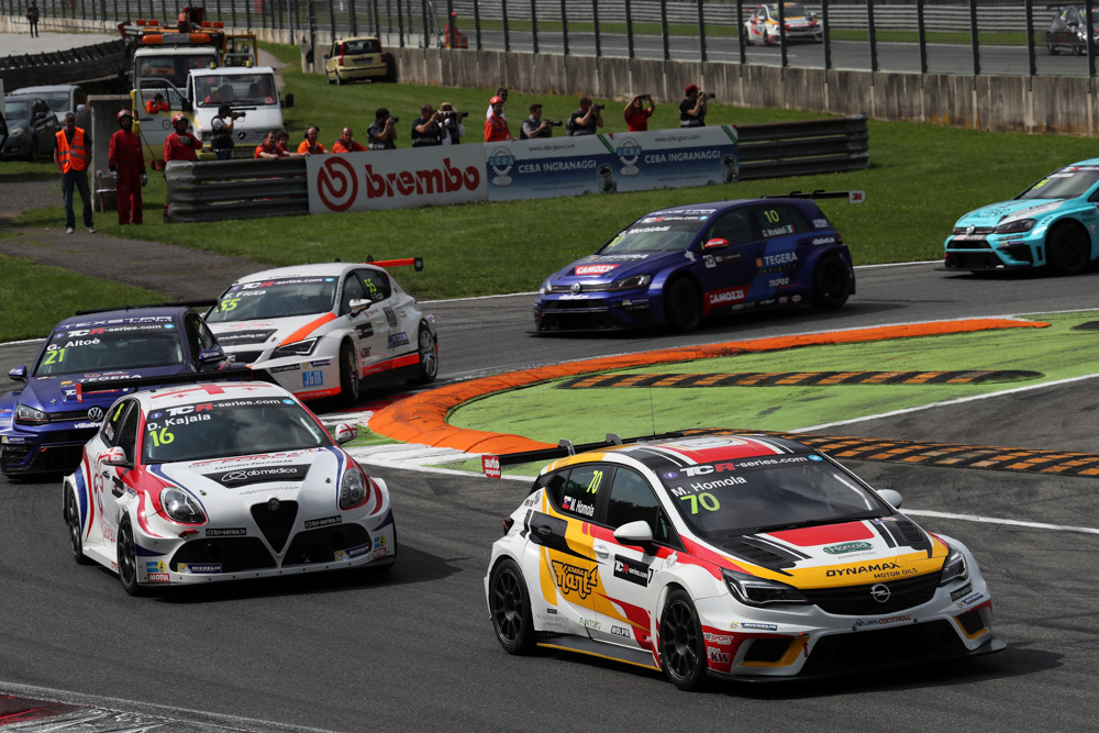 TCR International Series Monza 12 - 14 May 2017
