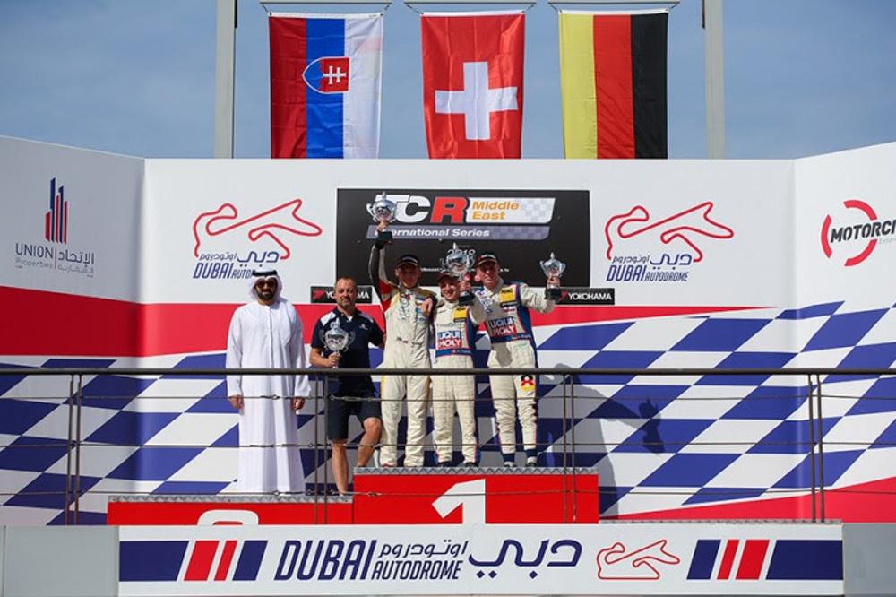 Maťo Homola v Dubaji na 2. mieste