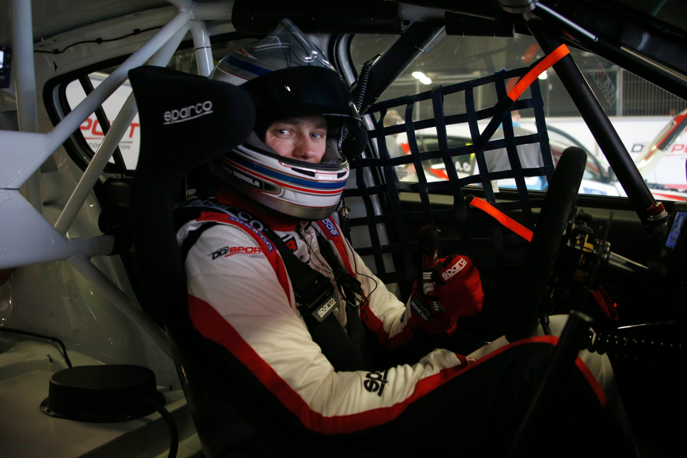 HOMOLA Mato (SVK), DG Sport Competition, PEUGEOT 308TCR, portrait during the 2018 FIA WTCR World Touring Car Tests at Barcelone, Spain, March 28 to 29 - Photo Paulo Maria / DPPI
