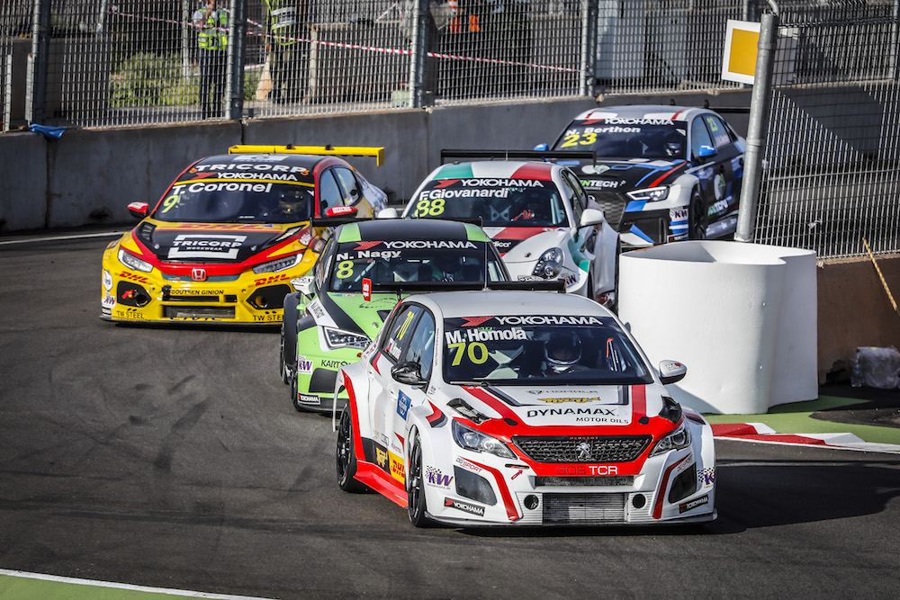This weekend: Mato Homola and WTCR at Hungaroring