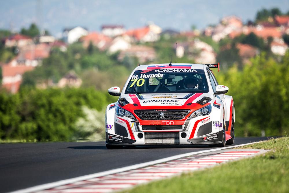 Unlucky Saturday for Mato Homola on the Race of Hungary