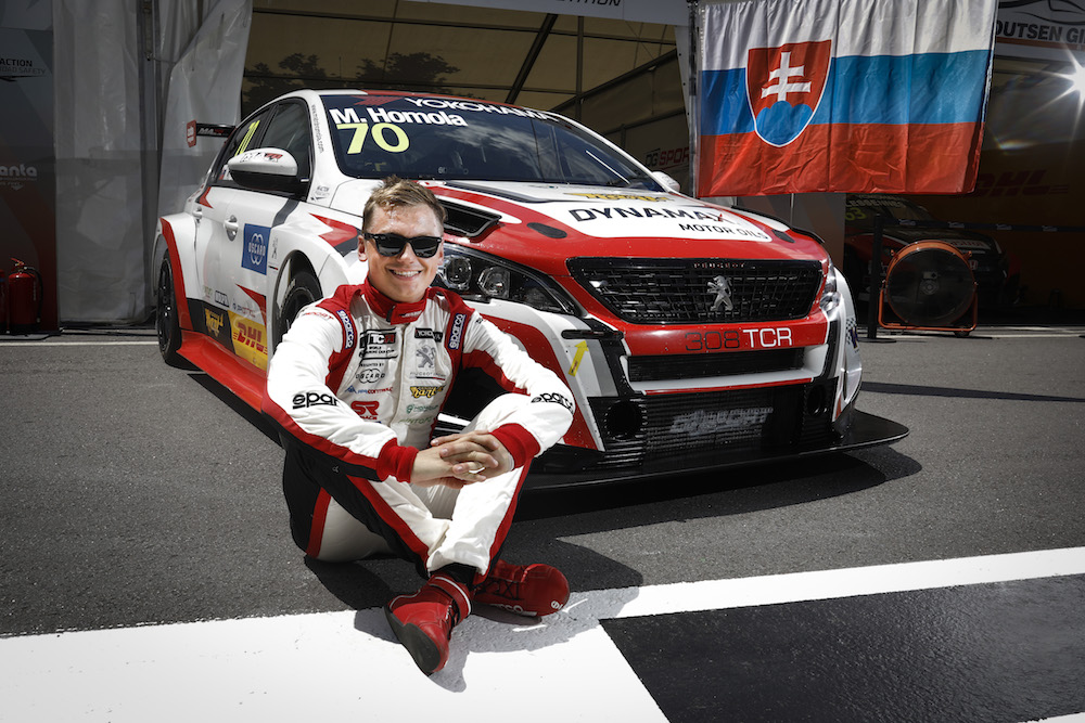 HOMOLA Mato, (svk), Peugeot 308 TCR team DG Sport Competition, portrait during the 2018 FIA WTCR World Touring Car cup of Portugal, Vila Real from june 22 to 24 - Photo Francois Flamand / DPPI