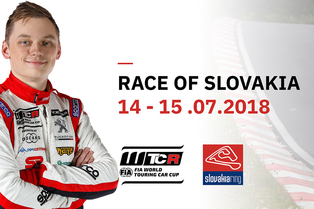 Mato Homola and WTCR are heading to Slovakia Ring in July!
