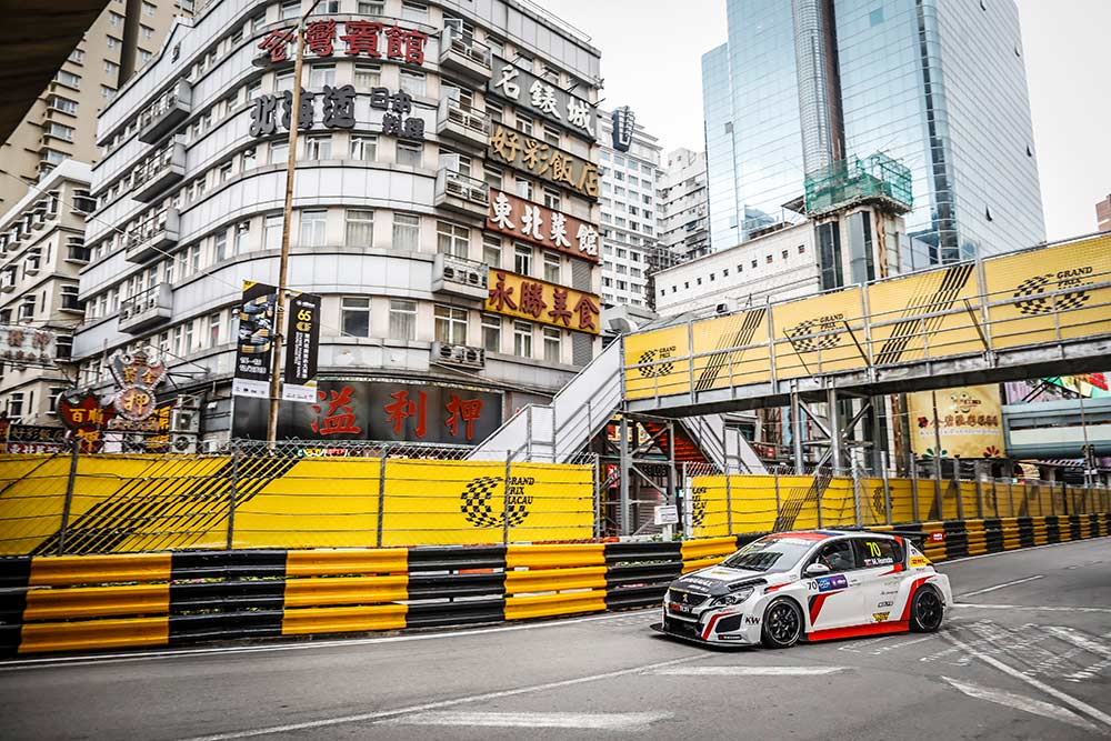 Mato Homola ends WTCR season with great results