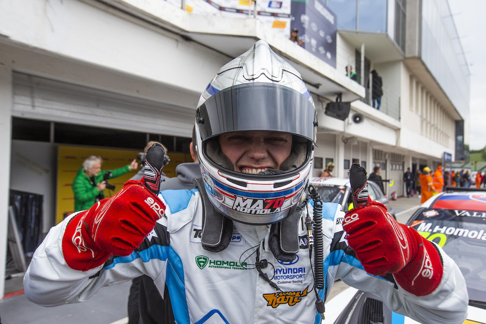 Mato Homola has won the first race of 2019 TCR Europe race at Hungaroring!