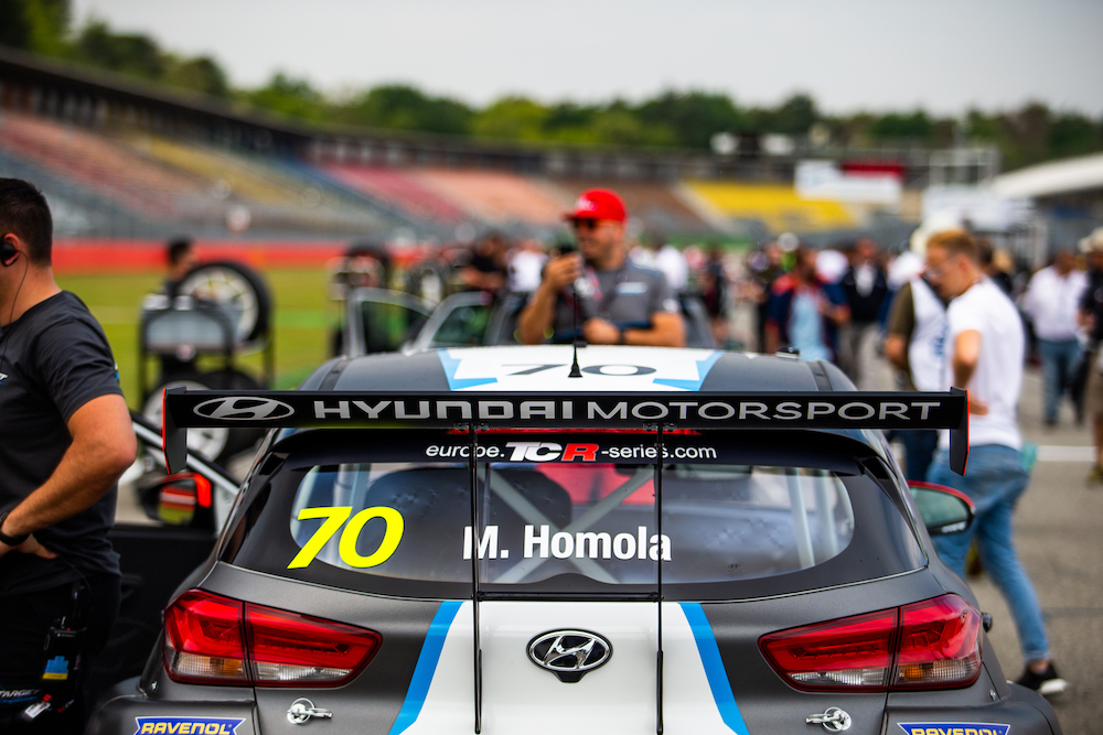 Mato Homola will fight for another TCR Europe victory this weekend