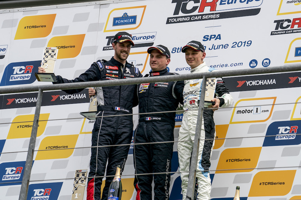 Mato Homola P2 in Race 2 at Spa-Francorchamps!
